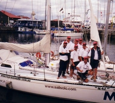2001 sydney to hobart we made it this time