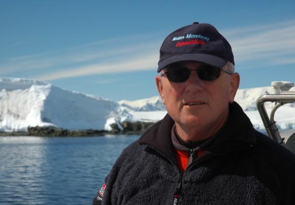 Tony Mowbray in Antarctica